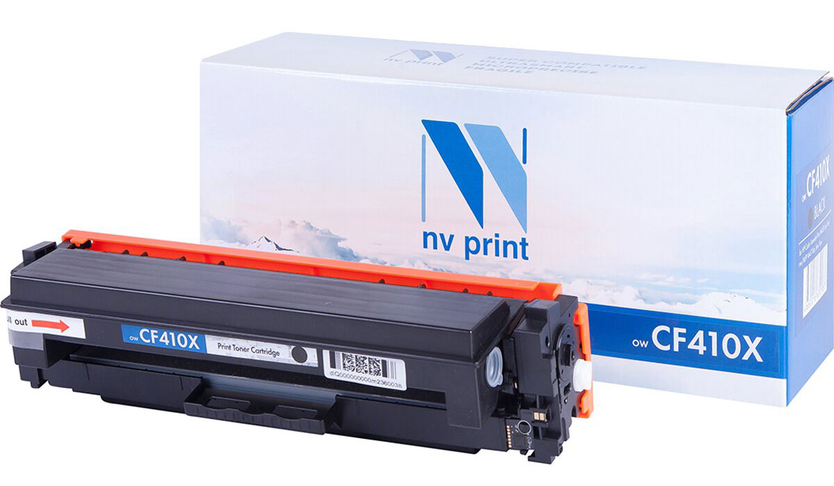 NV Print CE410XBk, Black тонер-картридж для HP Color LaserJet Color M351/M451/MFP M375/MFP M475 картридж для принтера nv print hp q5949x q7553x black