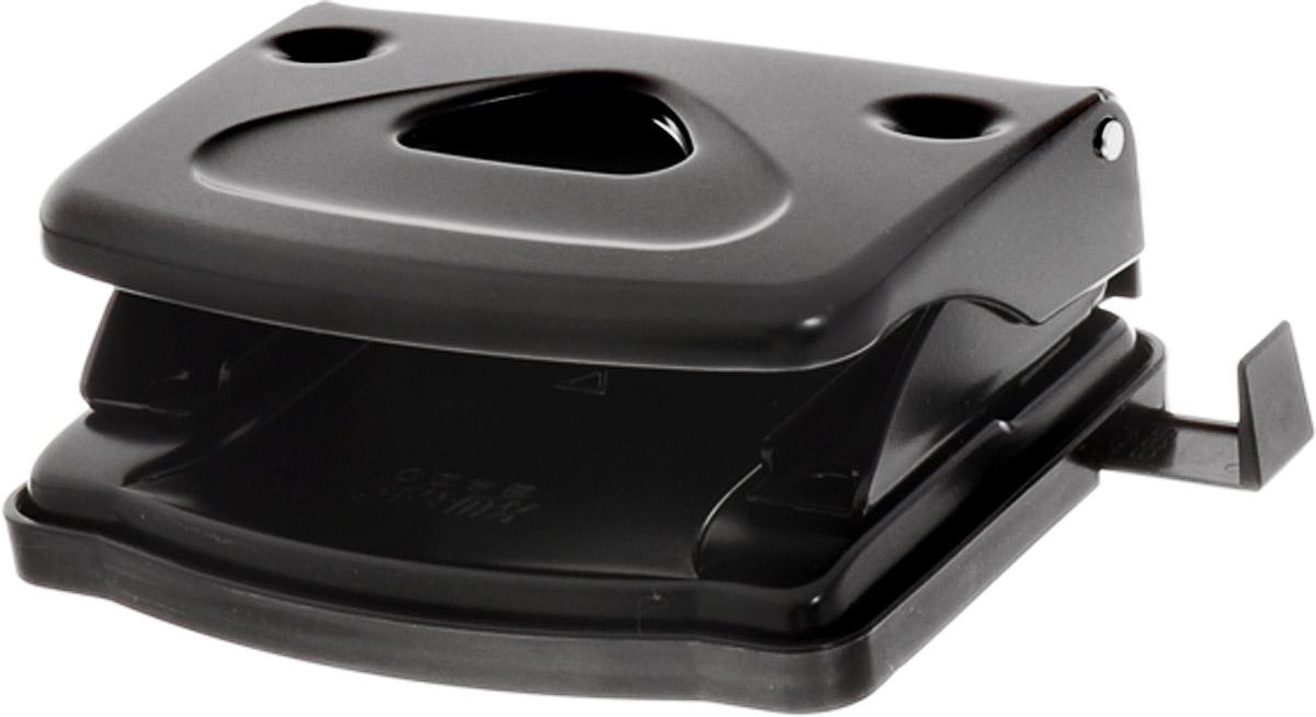 KW-trio Дырокол Classic 9402 цвет черный942blckОфисный дырокол на 16 листов KW-Тrio Classic 9402 изготовлен из металла и пластика.Диаметр прокола 6мм, расстояние между отверстиями 80мм. Дырокол снабжен пластиковой выдвижной линейкой и поддоном для конфетти.