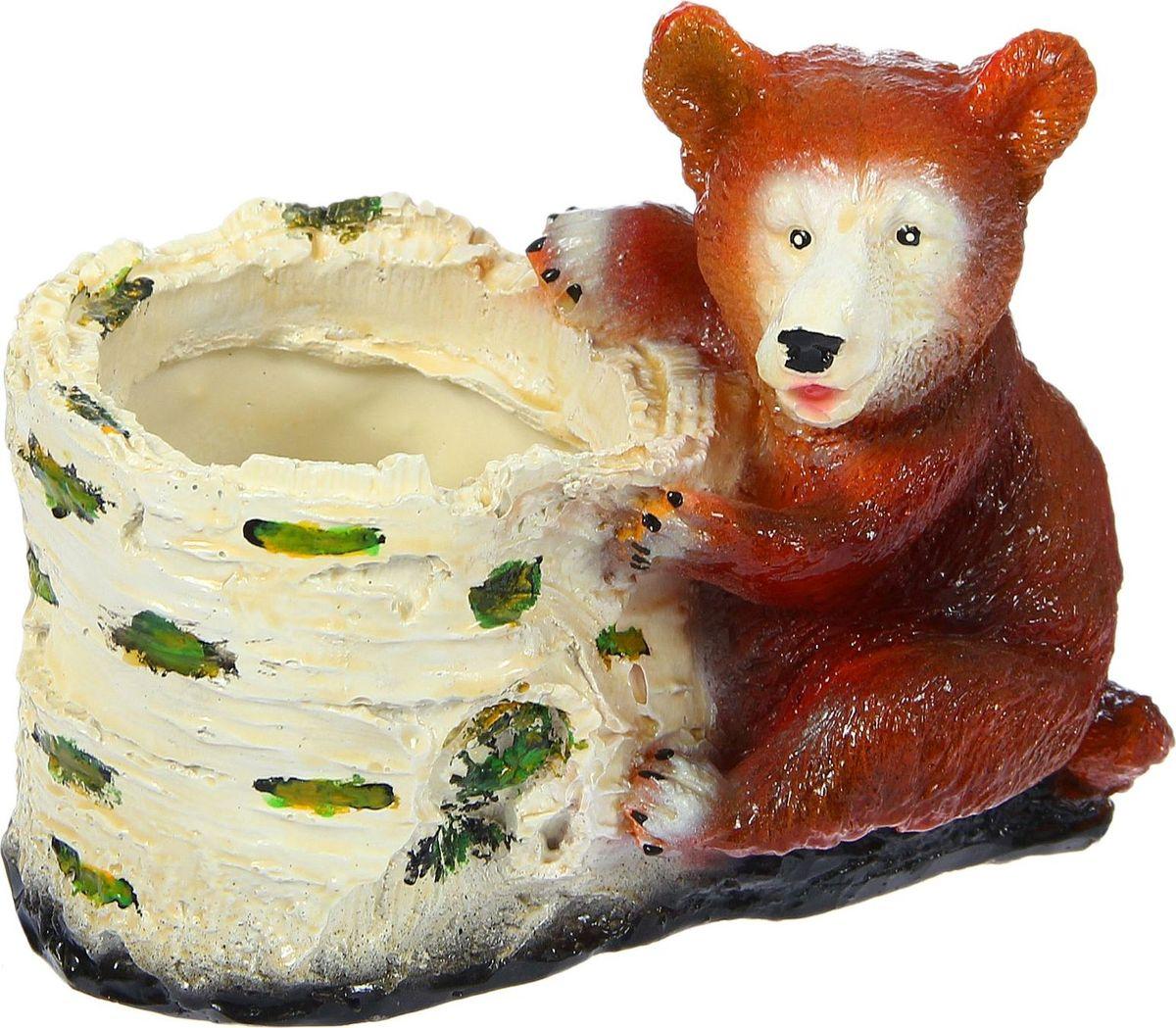 Кашпо Медведь, 14 х 20 х 18 см1422627