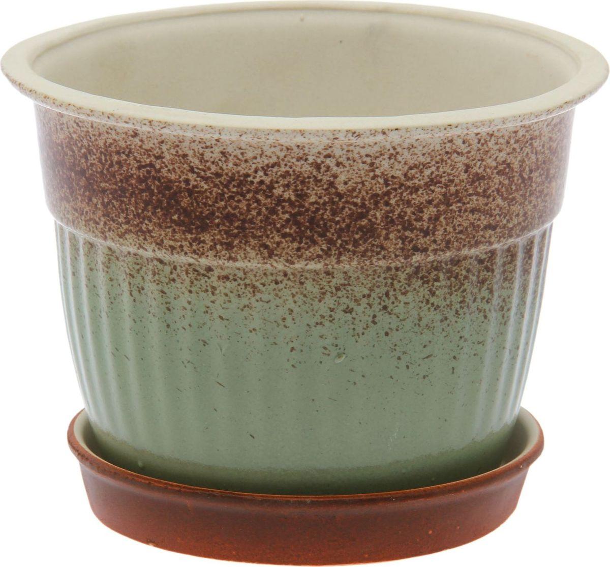Кашпо Керамика ручной работы Ребро, цвет: , 1,7 л1482085Комнатные растения — всеобщие любимцы. Они радуют глаз, насыщают помещение кислородом и украшают пространство. Каждому из них необходим свой удобный и красивый дом. Кашпо из керамики прекрасно подходят для высадки растений: за счёт пластичности глины и разных способов обработки существует великое множество форм и дизайновпористый материал позволяет испаряться лишней влагевоздух, необходимый для дыхания корней, проникает сквозь керамические стенки! #name# позаботится о зелёном питомце, освежит интерьер и подчеркнёт его стиль.