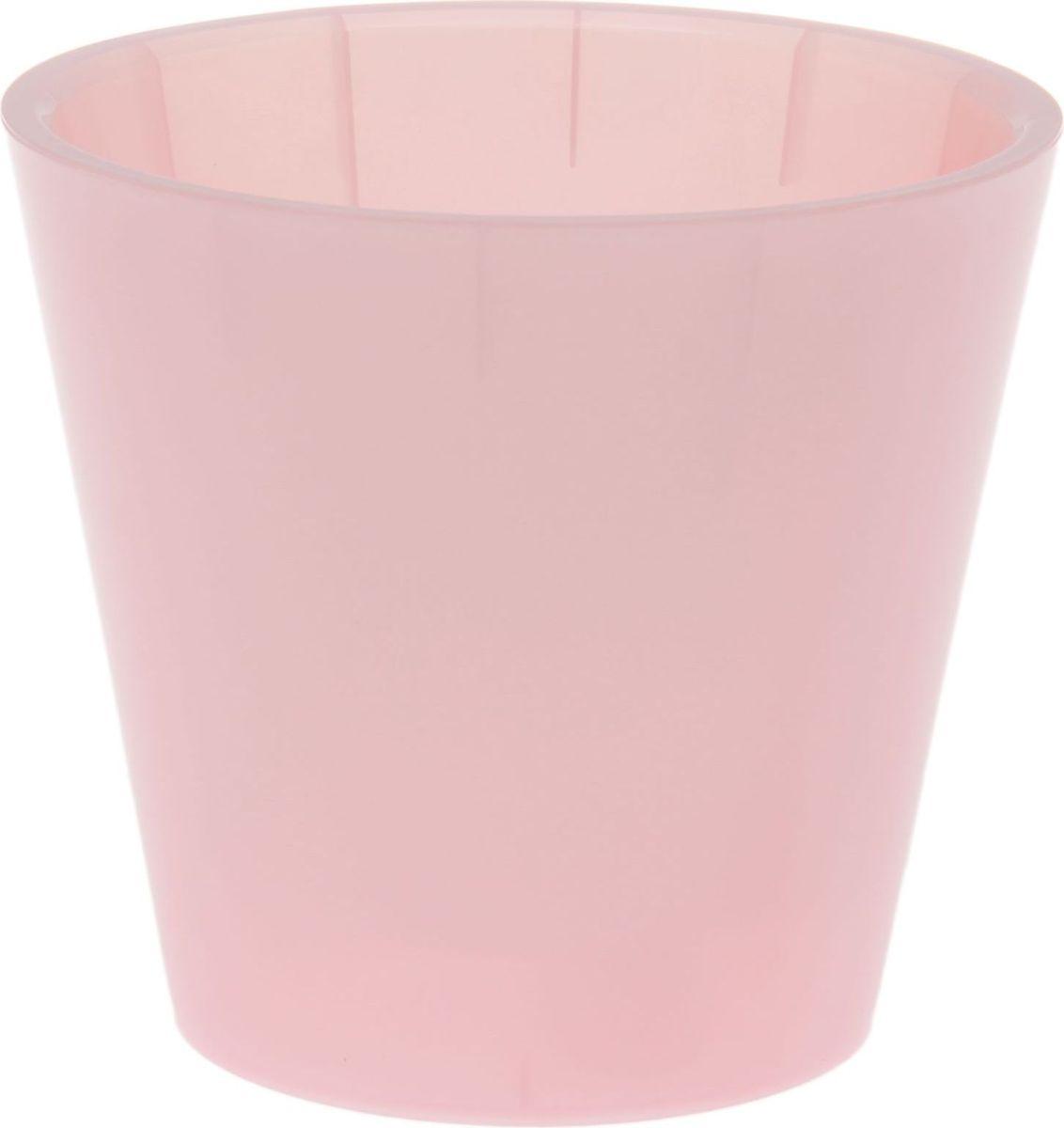 Горшок для цветов InGreen Фиджи. Орхид, цвет: розовый перламутр, 1,6 л1637050