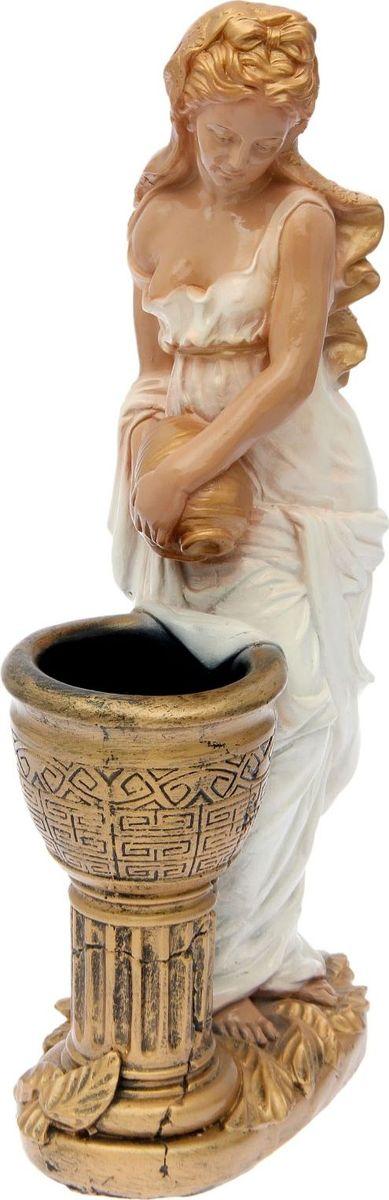 Кашпо Офелия с кувшином, цвет: мультиколор, 35 х 25 х 86 см1805256