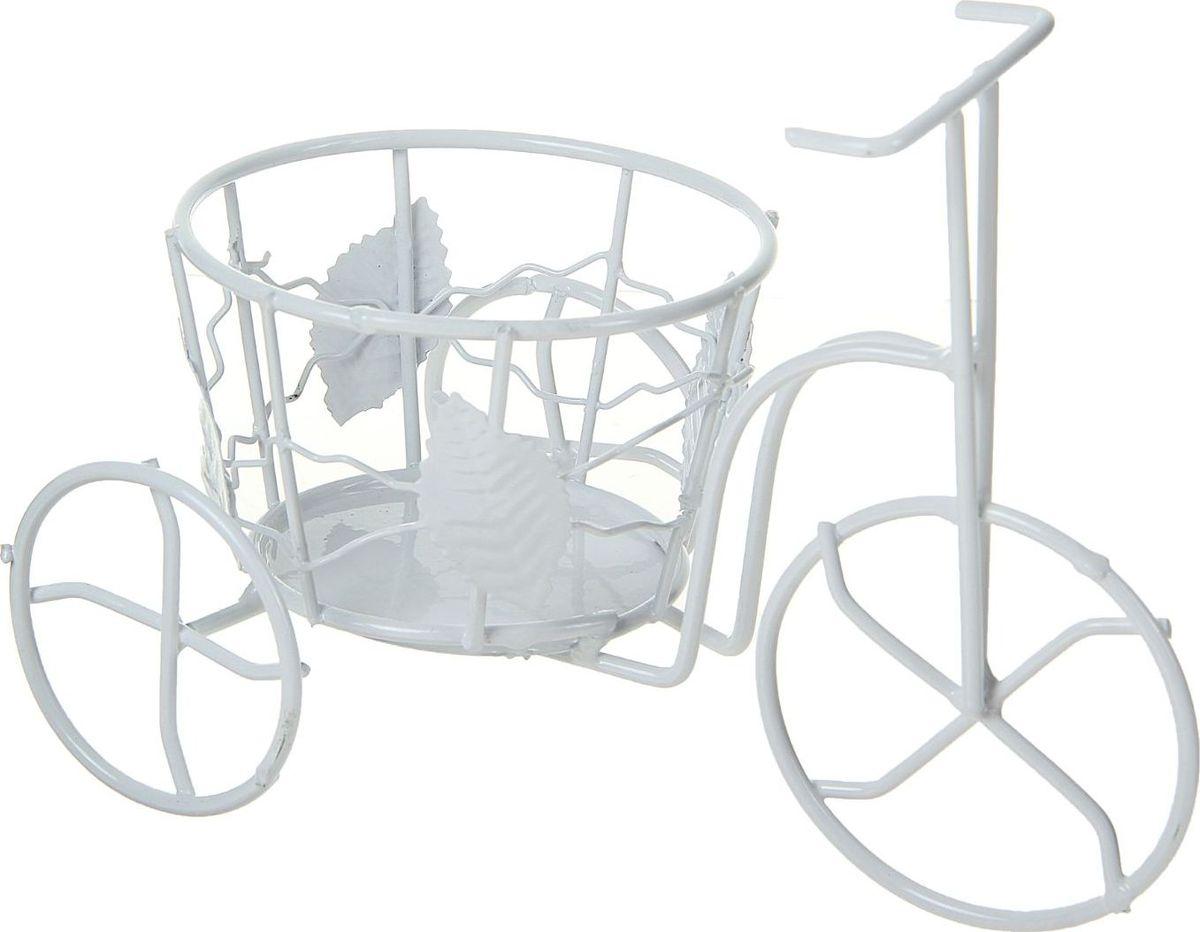 """Кашпо """"Велосипед"""", 15 х 21,5 х 11,5 см"""