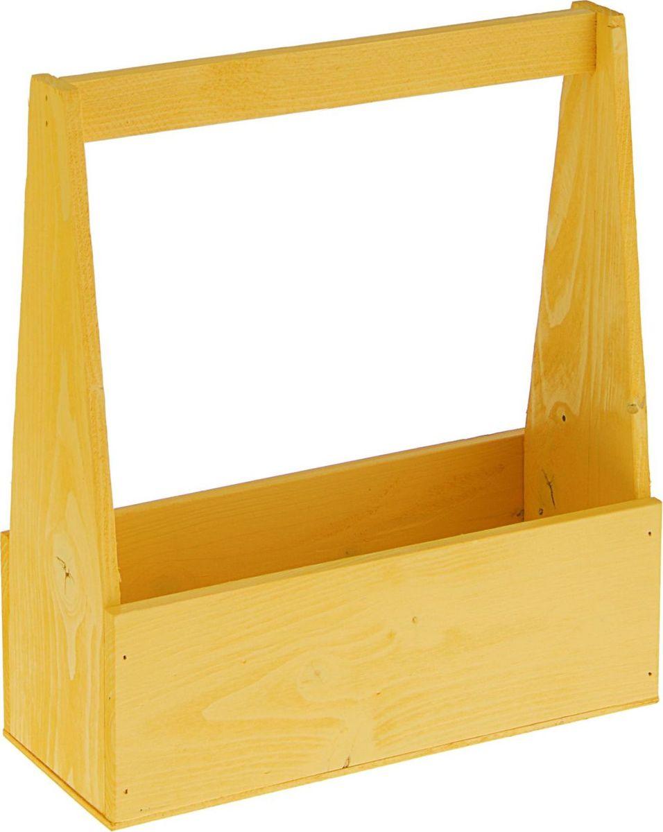 Кашпо №5, флористическое, цвет: желтый, 27 х 11 х 9 см1867448— сувенир в полном смысле этого слова. И главная его задача — хранить воспоминание о месте, где вы побывали, или о том человеке, который подарил данный предмет. Преподнесите эту вещь своему другу, и она станет достойным украшением его дома.