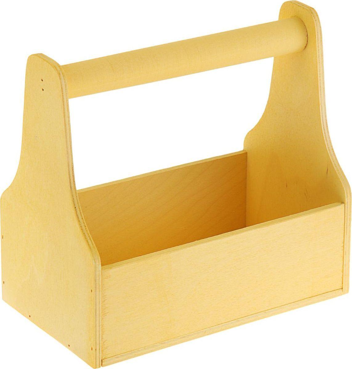 Кашпо ТД ДМ Ящик для инструментов, цвет: желтый, 20 х 20 х 12,5 см1874334#name# — сувенир в полном смысле этого слова. И главная его задача — хранить воспоминание о месте, где вы побывали, или о том человеке, который подарил данный предмет. Преподнесите эту вещь своему другу, и она станет достойным украшением его дома.