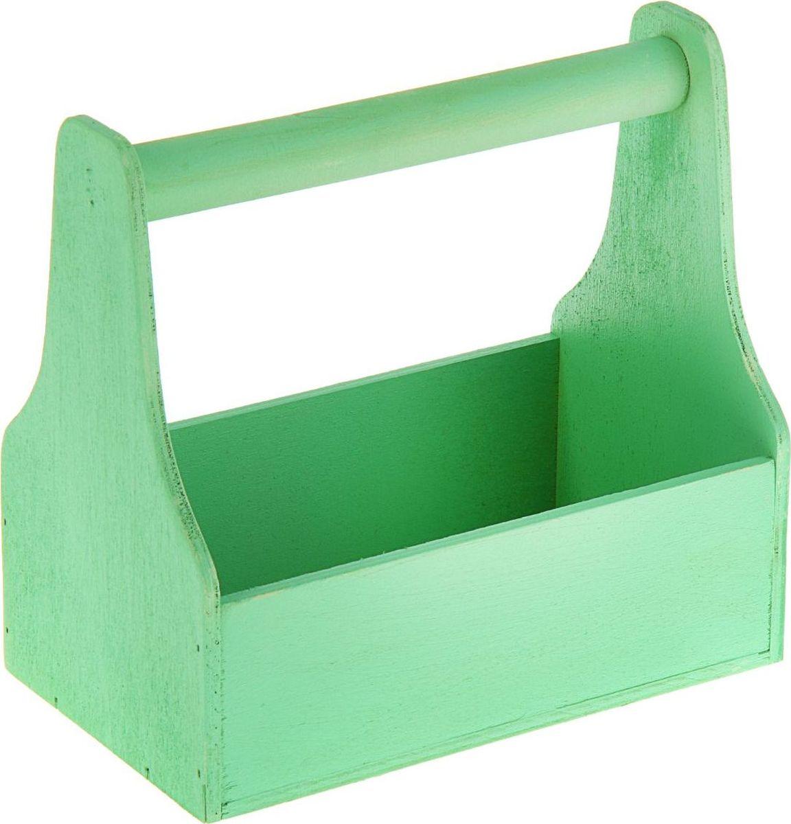 Кашпо ТД ДМ Ящик для инструментов, цвет: зеленый, 20 х 20 х 12,5 см1874335#name# — сувенир в полном смысле этого слова. И главная его задача — хранить воспоминание о месте, где вы побывали, или о том человеке, который подарил данный предмет. Преподнесите эту вещь своему другу, и она станет достойным украшением его дома.