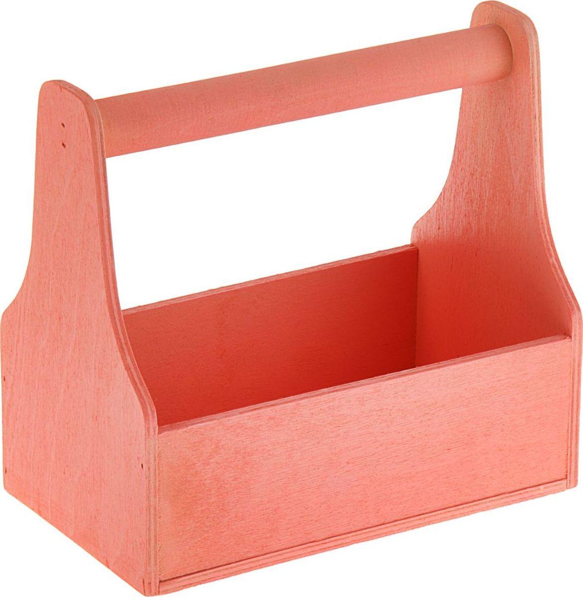 Кашпо ТД ДМ Ящик для инструментов, цвет: розовый, 20 х 20 х 12,5 см1874337#name# — сувенир в полном смысле этого слова. И главная его задача — хранить воспоминание о месте, где вы побывали, или о том человеке, который подарил данный предмет. Преподнесите эту вещь своему другу, и она станет достойным украшением его дома.