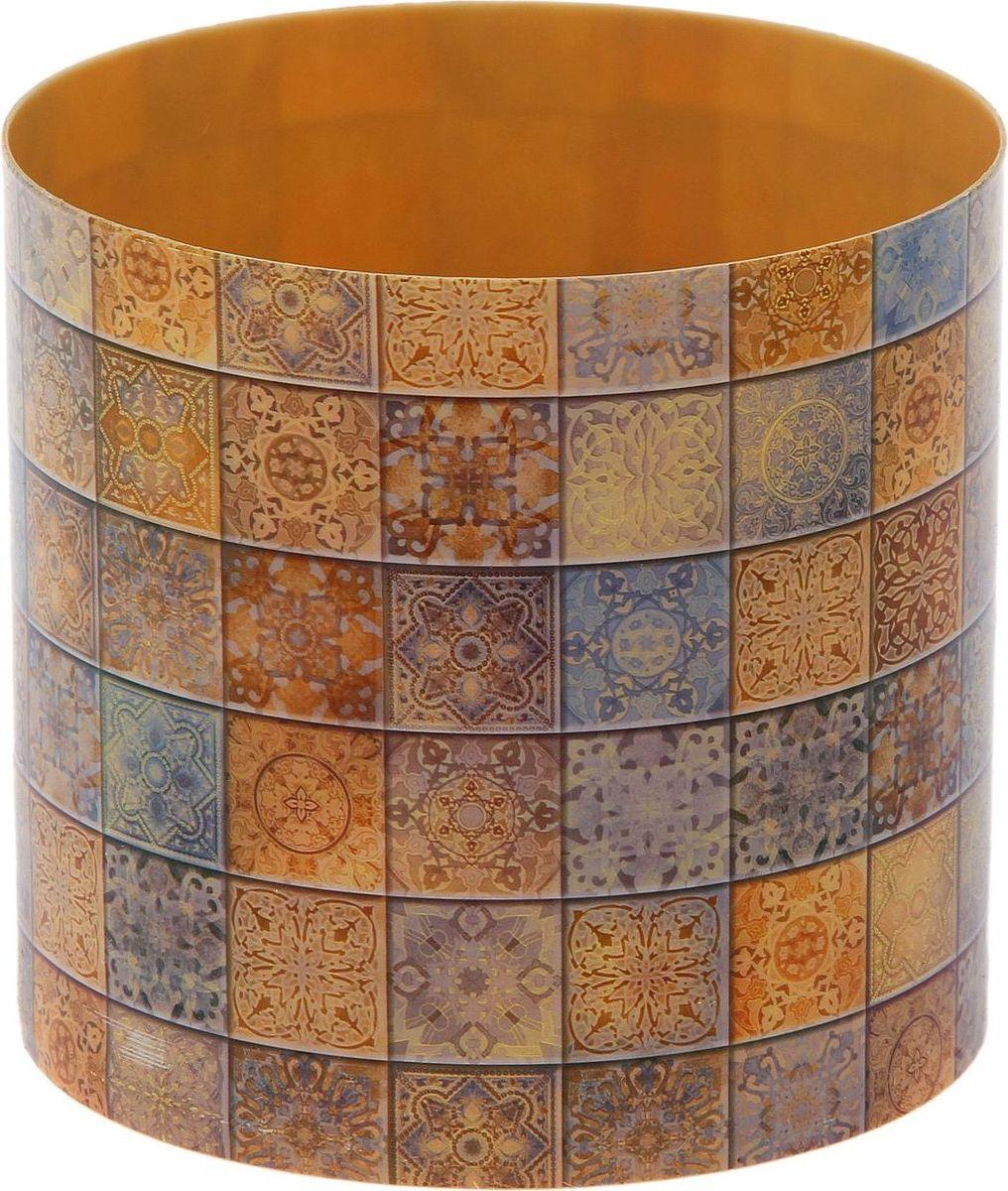 Горшок для цветов Simple Garden Плитка. Италия, со скрытым поддоном, 1,7 л1915358