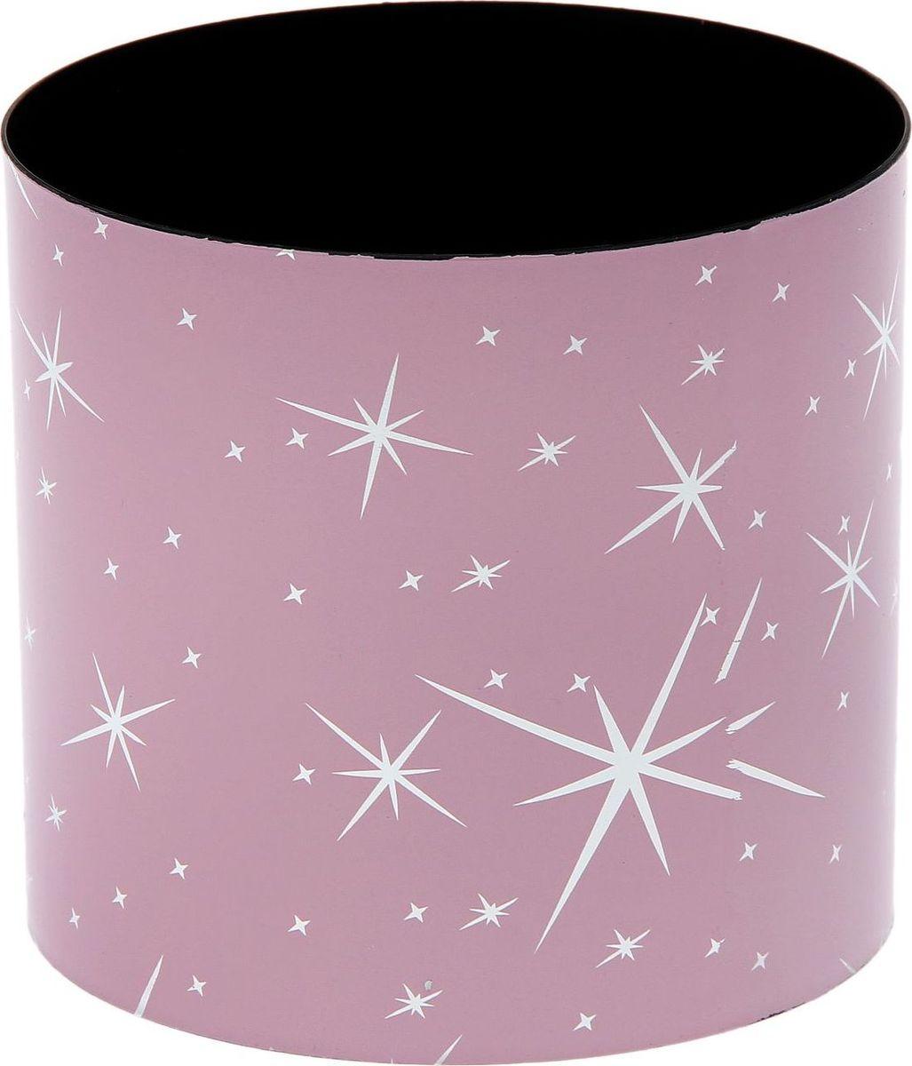 Горшок для цветов Simple Garden Звезды, со скрытым поддоном, цвет: розовый металлик, 1,7 л1915382Каждому хозяину периодически приходит мысль обновить свою квартиру, сделать ремонт, перестановку или кардинально поменять внешний вид каждой комнаты. Пластиковый горшок со скрытым поддоном Simple Garden Звезды - привлекательная деталь, которая поможет воплотить вашу интерьерную идею, создать неповторимую атмосферу в вашем доме. Окружите себя приятными мелочами, пусть они радуют глаз и дарят гармонию.