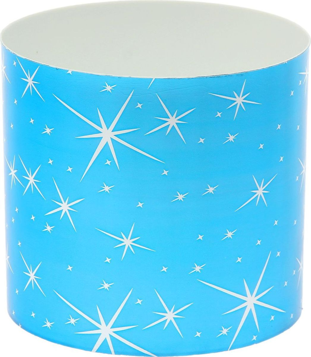 Горшок для цветов Simple Garden Звезды, со скрытым поддоном, цвет: голубой металлик, 2,8 л1915387Каждому хозяину периодически приходит мысль обновить свою квартиру, сделать ремонт, перестановку или кардинально поменять внешний вид каждой комнаты. Пластиковый горшок со скрытым поддоном Simple Garden Звезды - привлекательная деталь, которая поможет воплотить вашу интерьерную идею, создать неповторимую атмосферу в вашем доме. Окружите себя приятными мелочами, пусть они радуют глаз и дарят гармонию.