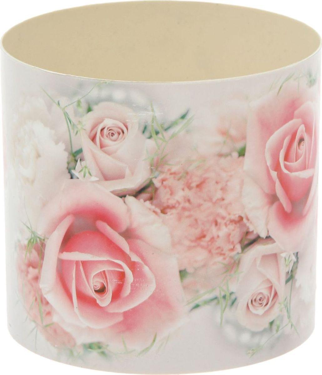 Горшок для цветов Simple Garden Розы, со скрытым поддоном, 1,7 л1915449Любой, даже самый современный и продуманный интерьер будет незавершённым без растений. Они не только очищают воздух и насыщают его кислородом, но и заметно украшают окружающее пространство. Такому полезному члену семьи просто необходимо красивое и функциональное кашпо, оригинальный горшок или необычная ваза!Горшок для цветов Simple Garden Розы предназначен для выращивания цветов, растений и трав. Он порадует вас функциональностью, а также украсит интерьер помещения.Объем горшка: 1,7 л.