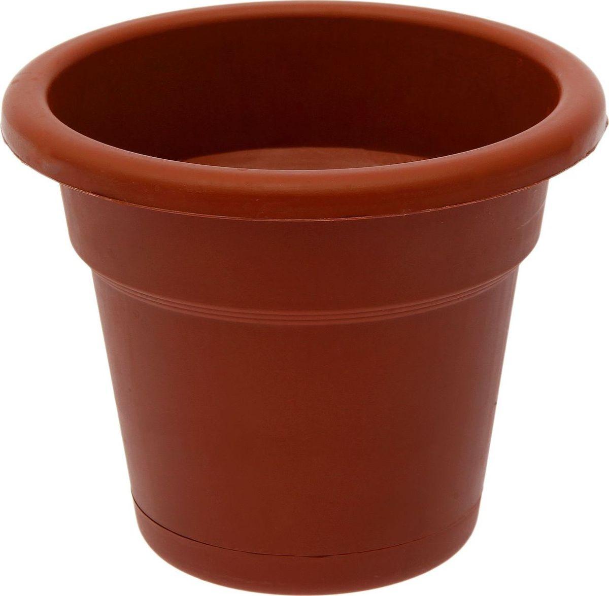 Горшок для цветов Simple Garden, с нижним поливом, цвет: терракотовый, 2,5 л1915476Любой, даже самый современный и продуманный интерьер будет незавершённым без растений. Они не только очищают воздух и насыщают его кислородом, но и украшают окружающее пространство. Такому полезному члену семьи просто необходим красивый и функциональный дом! Мы предлагаем #name#! Оптимальный выбор материала — пластмасса! Почему мы так считаем?Малый вес. С лёгкостью переносите горшки и кашпо с места на место, ставьте их на столики или полки, не беспокоясь о нагрузке. Простота ухода. Кашпо не нуждается в специальных условиях хранения. Его легко чистить — достаточно просто сполоснуть тёплой водой. Никаких потёртостей. Такие кашпо не царапают и не загрязняют поверхности, на которых стоят. Пластик дольше хранит влагу, а значит, растение реже нуждается в поливе. Пластмасса не пропускает воздух — корневой системе растения не грозят резкие перепады температур. Огромный выбор форм, декора и расцветок — вы без труда найдёте что-то, что идеально впишется в уже существующий интерьер. Соблюдая нехитрые правила ухода, вы можете заметно продлить срок службы горшков и кашпо из пластика:всегда учитывайте размер кроны и корневой системы (при разрастании большое растение способно повредить маленький горшок)берегите изделие от воздействия прямых солнечных лучей, чтобы горшки не выцветалидержите кашпо из пластика подальше от нагревающихся поверхностей. Создавайте прекрасные цветочные композиции, выращивайте рассаду или необычные растения.
