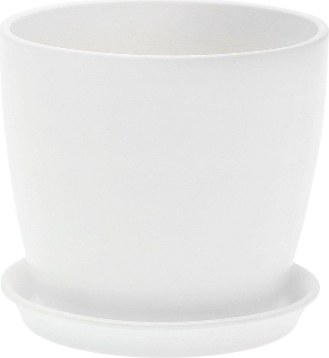 Кашпо Керамика ручной работы Осень. Лак, цвет: белый, 0,25 л1968861Комнатные растения — всеобщие любимцы. Они радуют глаз, насыщают помещение кислородом и украшают пространство. Каждому из них необходим свой удобный и красивый дом. Кашпо из керамики прекрасно подходят для высадки растений: за счёт пластичности глины и разных способов обработки существует великое множество форм и дизайновпористый материал позволяет испаряться лишней влагевоздух, необходимый для дыхания корней, проникает сквозь керамические стенки! #name# позаботится о зелёном питомце, освежит интерьер и подчеркнёт его стиль.
