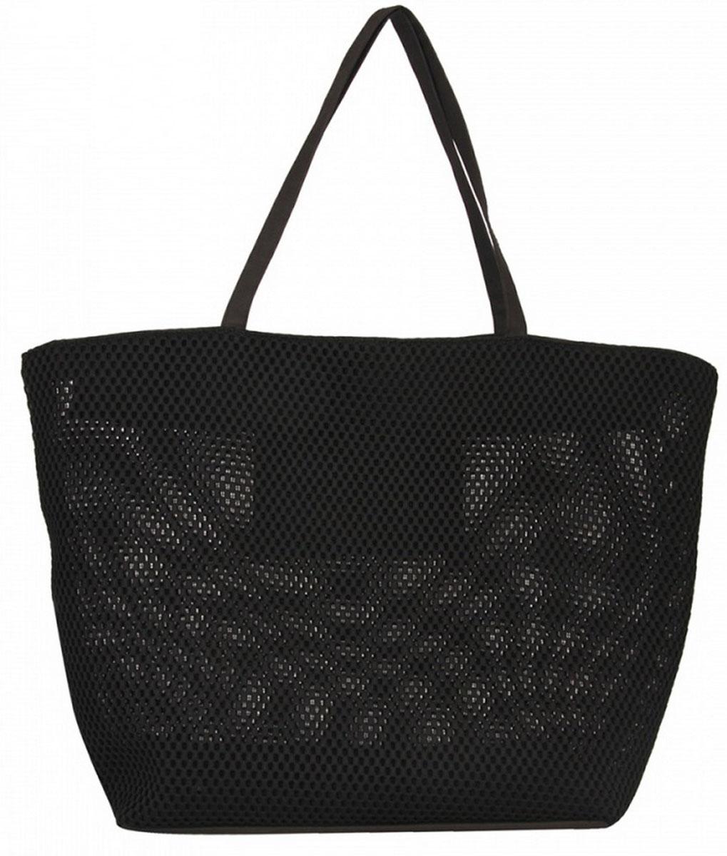 Сумка женская Venera, цвет: черный. 1203156-2A-B86-05-CИтальянская сумка Venera черного цвета, размером 39х63х22см. Изготовлена из полиэстера прочного материала непропускающего влагу. Сумка это важнейшая часть женского гардероба, она является как модным аксессуаром так и удобным вместительным изделием для необходимых вещей.