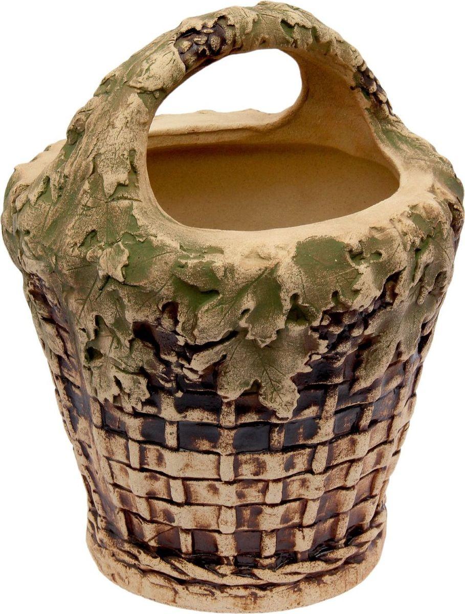 Горшок для цветов Керамика ручной работы Корзина, 15 л1998808Горшок Корзина 15 л — настоящая находка для садоводов. Это замечательное изделие, словно претерпевшее влияние времени, станет изысканной деталью вашего участка. Фигура выполнена исключительно из шамотной глины, которая делает ее: абсолютно нетоксичной устойчивой к воздействию окружающей среды (морозостойкой) устойчивой к изменению цвета и структуры (не шелушится и не облезает). При декорировании используются только качественные пигменты. Глина обжигается в два этапа: утилитный (900 °С) с последующим декорированием и политой (1100 °С). Такая технология придает изделию необходимую крепость.
