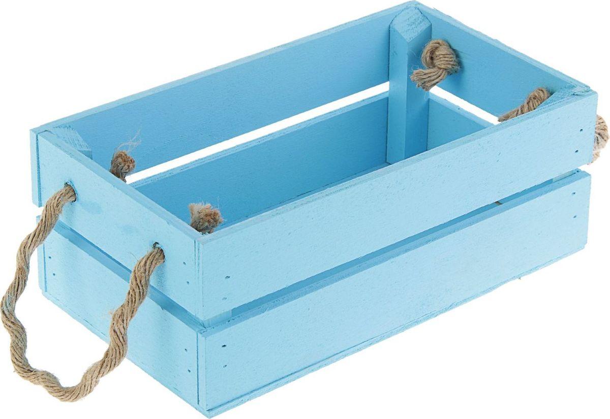 Кашпо ТД ДМ Ящик, цвет: голубой, 24,5 х 13,5 х 9 см2219799— сувенир в полном смысле этого слова. И главная его задача — хранить воспоминание о месте, где вы побывали, или о том человеке, который подарил данный предмет. Преподнесите эту вещь своему другу, и она станет достойным украшением его дома.