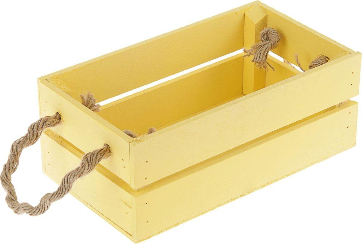 Кашпо ТД ДМ Ящик, цвет: желтый, 24,5 х 13,5 х 9 см2219800— сувенир в полном смысле этого слова. И главная его задача — хранить воспоминание о месте, где вы побывали, или о том человеке, который подарил данный предмет. Преподнесите эту вещь своему другу, и она станет достойным украшением его дома.