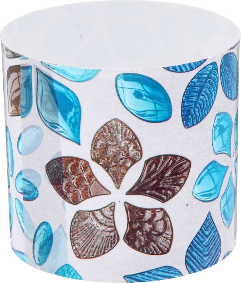 Горшок для цветов Simple Garden Стеклянные цветы, со скрытым поддоном, 1 л2265056Каждому хозяину периодически приходит мысль обновить свою квартиру, сделать ремонт, перестановку или кардинально поменять внешний вид каждой комнаты. Горшок со скрытым поддоном Simple Garden Стеклянные цветы - привлекательная деталь, которая поможет воплотить вашу интерьерную идею, создать неповторимую атмосферу в вашем доме. Окружите себя приятными мелочами, пусть они радуют глаз и дарят гармонию.