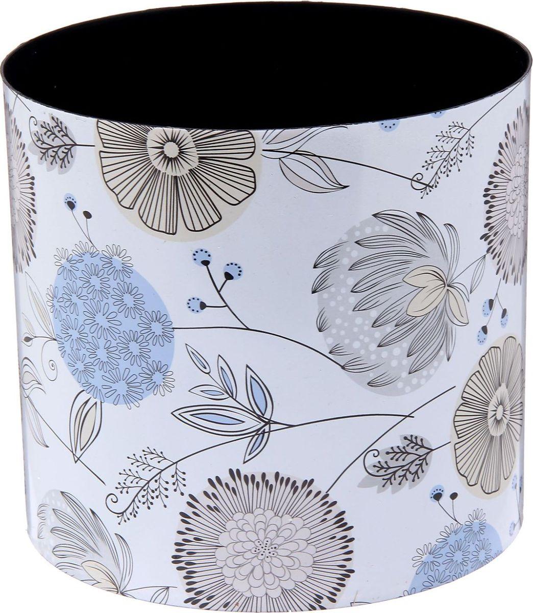 Горшок для цветов Simple Garden Цветы. Войнича, со скрытым поддоном, 5,1 л2265063Каждому хозяину периодически приходит мысль обновить свою квартиру, сделать ремонт, перестановку или кардинально поменять внешний вид каждой комнаты. Горшок со скрытым поддоном Simple Garden Цветы. Войнича — привлекательная деталь, которая поможет воплотить вашу интерьерную идею, создать неповторимую атмосферу в вашем доме. Окружите себя приятными мелочами, пусть они радуют глаз и дарят гармонию.