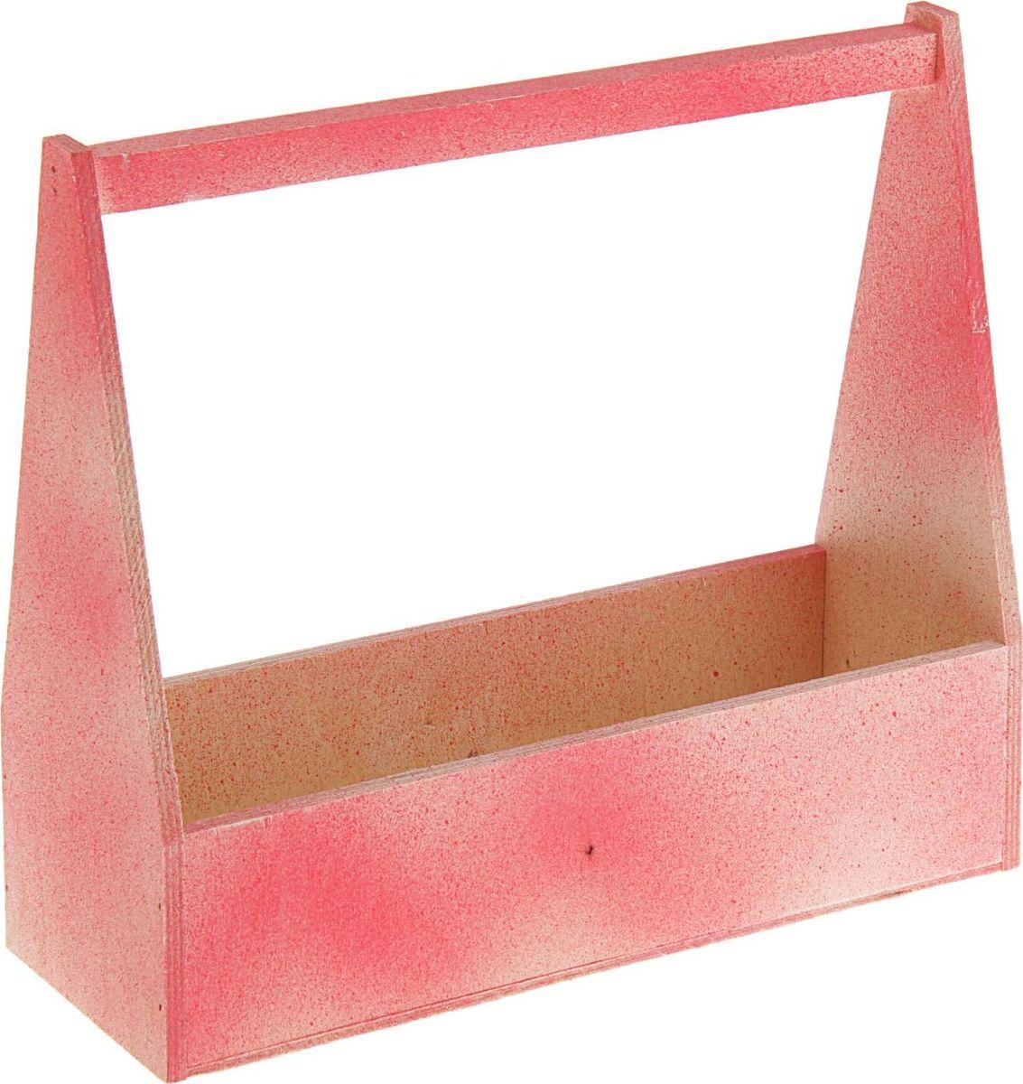 Кашпо ТД ДМ Ящик, состаренное, цвет: красный, 12 х 27 х 30,5 см2269513#name# — сувенир в полном смысле этого слова. И главная его задача — хранить воспоминание о месте, где вы побывали, или о том человеке, который подарил данный предмет. Преподнесите эту вещь своему другу, и она станет достойным украшением его дома.