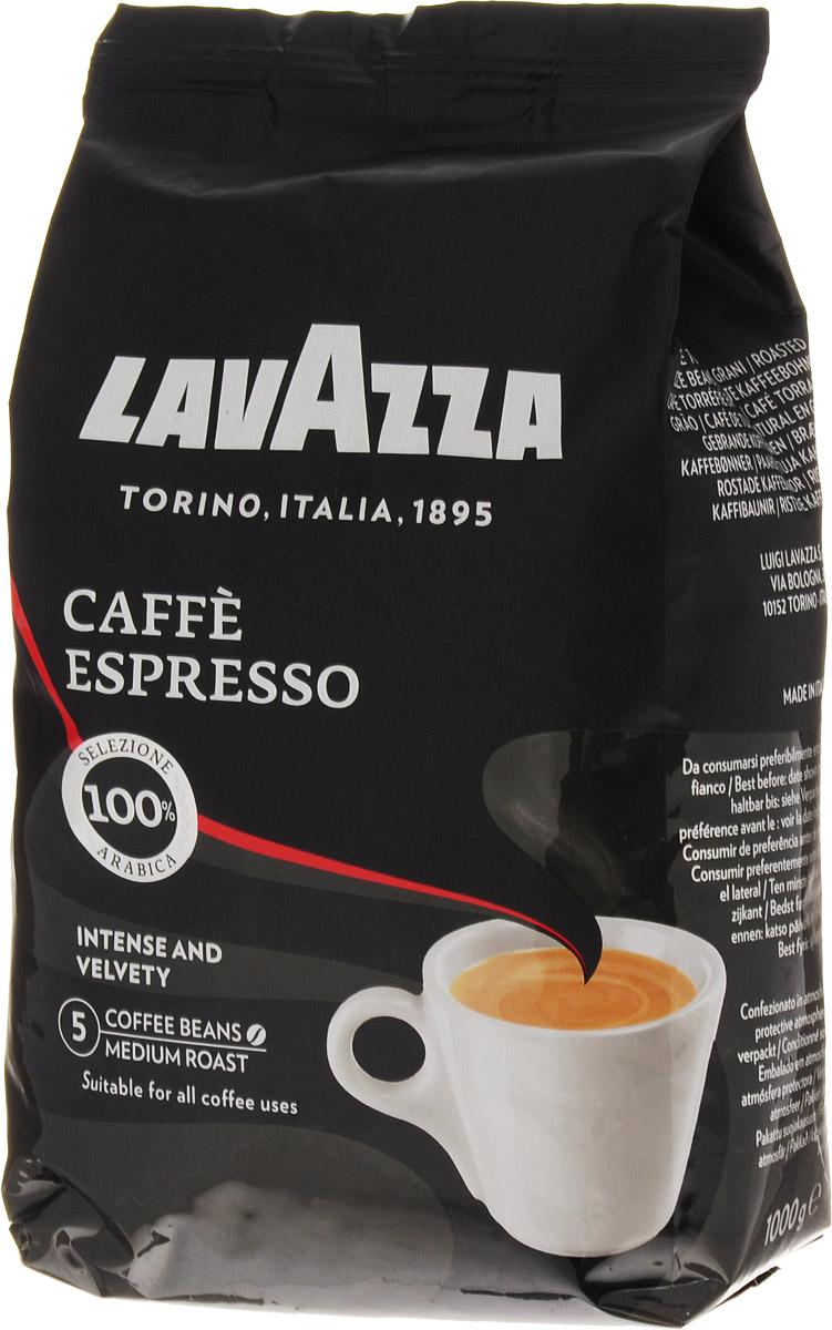Lavazza Caffe Espresso кофе в зернах, 1 кг piazza del caffe espresso кофе в зернах 1 кг