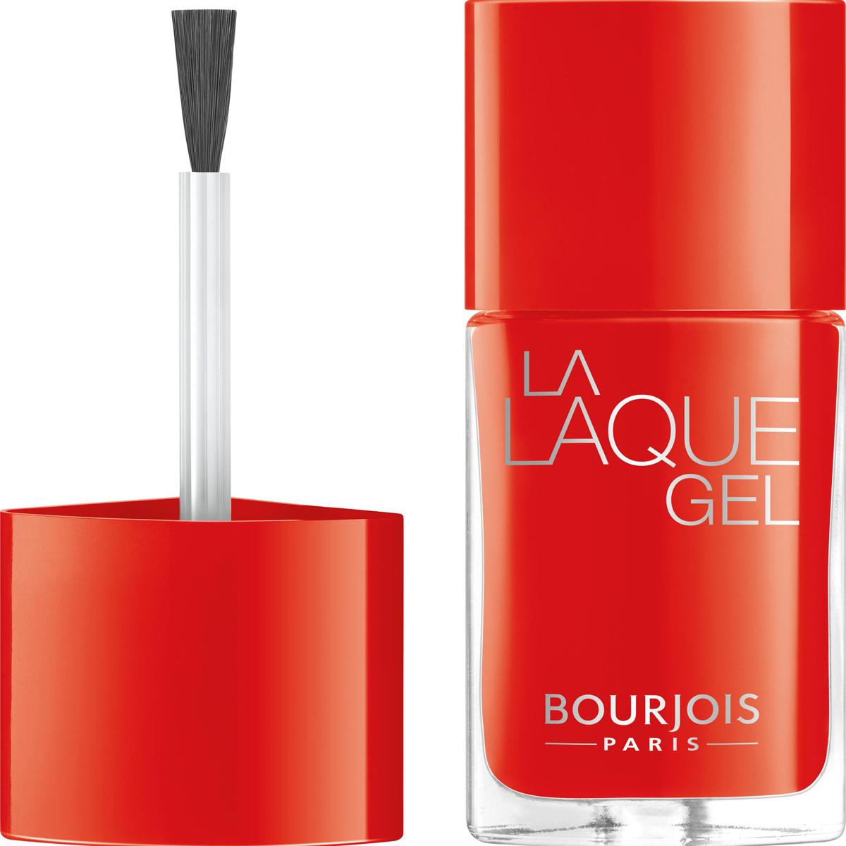 Bourjois Гель-лак Для Ногтей La Laque Gel, Тон 2729101362027Маникюр в 2 шага. Без УФ-лампы. Легко удалить жидкостью для снятия лака. Стойкость до 15 дней. Интенсивность цвета и сияние.