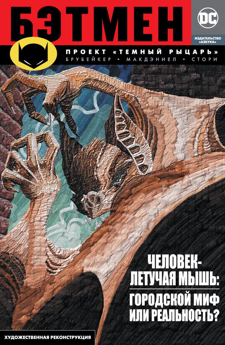 Э. Брубейкер Бэтмен. Проект Темный Рыцарь белый свитер летучая мышь