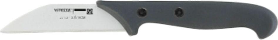 Нож для чистки и резки Vitesse Royale, цвет: серый, белый, длина лезвия 9 смVS-2713Нож Vitesse Royale изготовлен из высококачественной нержавеющей стали с покрытием non-stick, не допускающим прилипания. Покрытие обладает антибактериальными свойствами, легко моется, не впитывает запахи и не окрашивается соками различных продуктов. Рукоятка ножа, выполненная из бакелита, не скользит в руках и делает резку удобной и безопасной. Такой нож превосходно подходит для чистки и нарезки различных овощей и фруктов. Допускается мытье в посудомоечной машине. Характеристики:Материал: нержавеющая сталь, бакелит. Цвет: серый, белый. Длина лезвия: 9 см. Общая длина ножа: 19 см. Толщина лезвия: 1,5 мм.