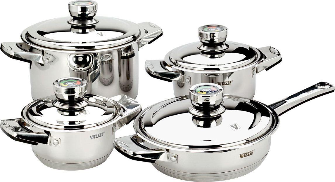 Набор посуды Vitesse Denise 9 предметов VS-1000 посуда для приготовления пищи