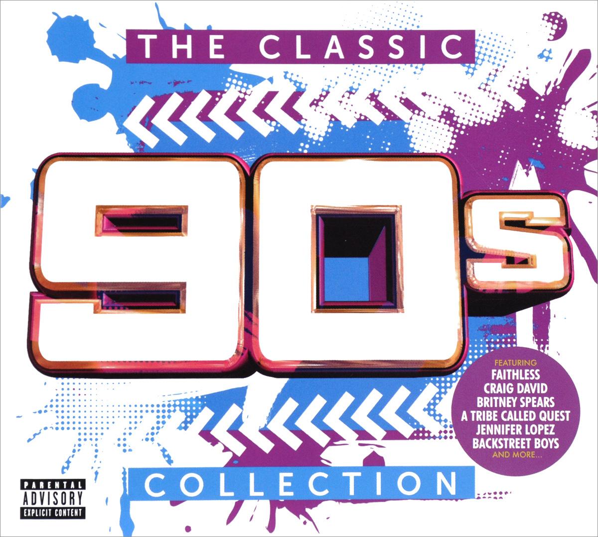 Backstreet Boys,Селин Дион,Дженнифер Лопес,Крейг Дэвид,Run-DMC,Дайана Кинг,TLC,Spin Doctors,Crazy Town,Джеф Бакли The Classic 90s Collection (3 CD)
