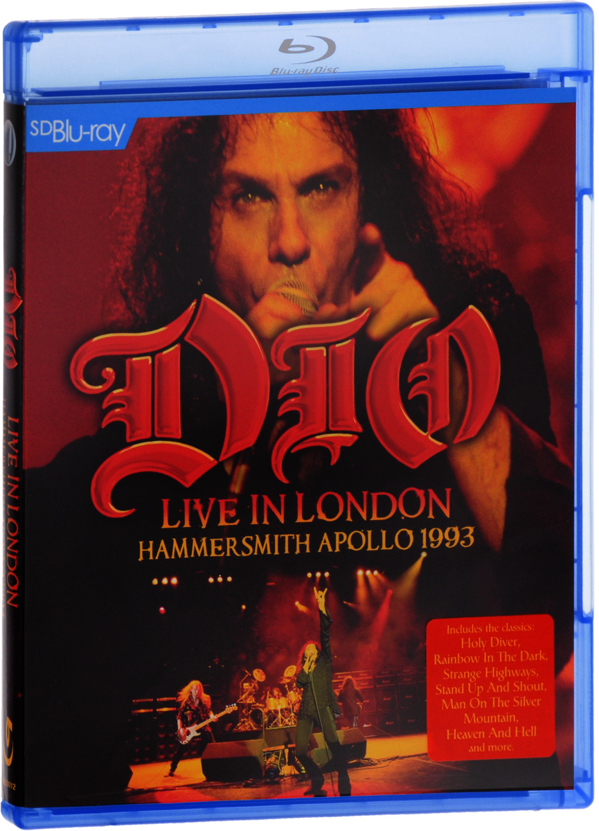 Dio: Live In London Hammersmith Apollo 1993 (SD Blu-ray) francis rossi live from st luke s london blu ray