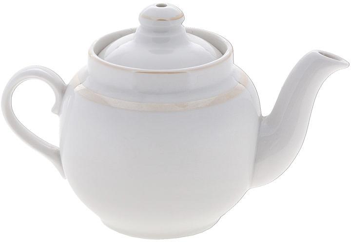 """Заварочный чайник """"Дулевский Фарфор"""" выполнен из высококачественного фарфора, покрытого глазурью. Изделие прекрасно подходит для заваривания вкусного и ароматного чая, травяных настоев. Оригинальный дизайн сделает чайник настоящим украшением стола. Он удобен в использовании и понравится каждому."""