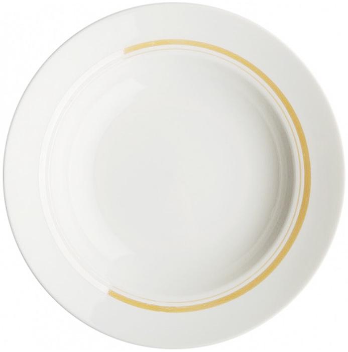 Тарелка глубокая Дулевский Фарфор Отводка люстром, диаметр 20 см024122Глубокая тарелка подходит для сервировки стола и подачи первых блюд. Изделие выполнено из фарфора в соответствии с ГОСТ, что говорит о высоком качестве.Тарелку можно мыть в посудомоечной машине.