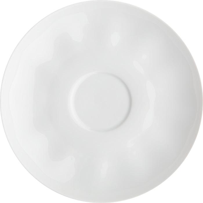 Блюдце Дулевский Фарфор Тюльпан. Белое, диаметр 15 см034192Блюдце Дулевский фарфор Тюльпан. Белое, изготовленное из высококачественного фарфора, имеет форму тюльпан. Блюдце украсит сервировку вашего стола.