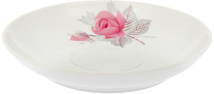 Блюдце Дулевский Фарфор Дикая роза, диаметр 14 см048512Блюдце Дулевский фарфор Дикая роза, изготовленное из высококачественного фарфора, оформлено ярким цветочным рисунком. Блюдце украсит сервировку вашего стола. Можно использовать в микроволновой печи и мыть в посудомоечной машине. Не рекомендуется использовать абразивные моющие средства.