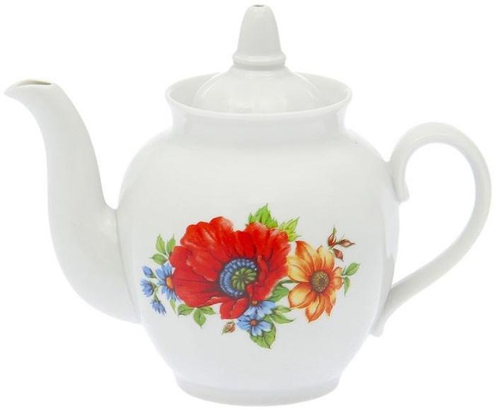 """Фарфоровая посуда считается классикой, ведь никакое время для нее не властно. Впервые появившись в Китае, фарфор присутствовал в домах  богатых людей и являлся драгоценным подарком для любого европейца. Фарфор ценили на вес золота, и это неудивительно, ведь его качество и  необыкновенные свойства славились на весь мир. Так, например, чайники из фарфора - это настоящая находка для ценителей чайной ароматной церемонии. Благодаря своим свойствам, фарфор  способен удерживать тепло напитка продолжительное время. Заварочный чайник """"Гранатовый. Полевой мак"""" имеет довольно простой рисунок на белоснежном фарфоре, который несомненно, привлечет Ваше  внимание. Фарфор производства """"Дулевский Фарфор"""" имеет высокую термическую и механическую стойкость, благородный внешний вид. Чайник заварочный Дулевский Фарфор """"Гранатовый. Полевой мак"""" станет прекрасным украшением сервировочного стола. Чай из такого  изделия будет невероятно ароматным и вкусным."""