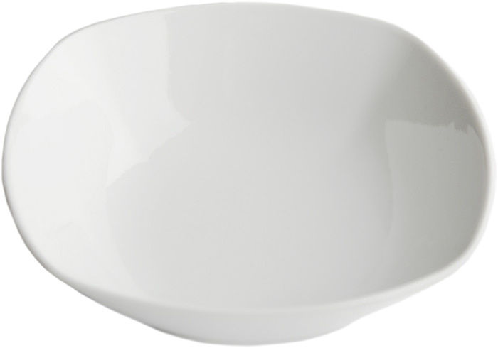 Салатник Дулевский Фарфор Белый, квадратный, 550 мл салатник фарфор вербилок 360 мл 6970000б