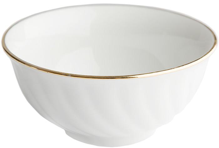 Пиала изготовлена из высококачественного фарфора, покрытого глазурью. Изделие прекрасно подойдет для подачи салата или мороженого.  Благодаря изысканному дизайну такая пиала станет бесспорным украшением вашего стола.