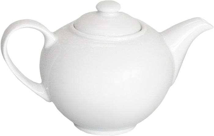 Чайник заварочный Дулевский Фарфор  Удачный. Белый , 1,1 л - Посуда для приготовления