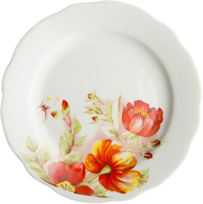 Тарелка Дулевский Фарфор Альпийцские цветы, диаметр 17,5 см070292Тарелка Дулевский Фарфор выполнена из высококачественного фарфора, покрытого глазурью. Изделие дополнено красочным рисунком. Тарелку можно использовать для сервировки различных блюд.