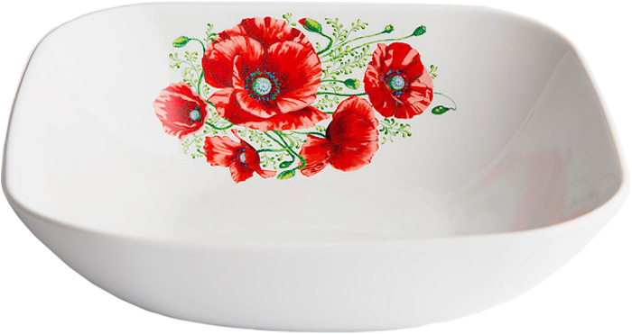 Салатник Дулевский Фарфор Маки, 1,04 л070762Салатник Дулевский Фарфор выполнен из высококачественного фарфора, покрытого глазурью. Такой салатник отлично подойдет для подачи салатов, закусок, нарезок. Он красиво дополнит сервировку стола и станет полезным приобретением для кухни.