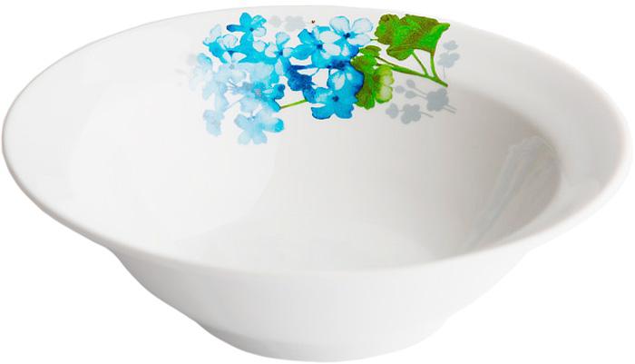 Миска Дулевский Фарфор Голубая герань, 300 мл071852Миска Дулевский Фарфор выполнена из высококачественного фарфора, покрытого глазурью. Изделие дополнено красочным рисунком. Такая миска пригодится на любой кухне. В ней можно сервировать различные блюда или использовать как суповую тарелку.