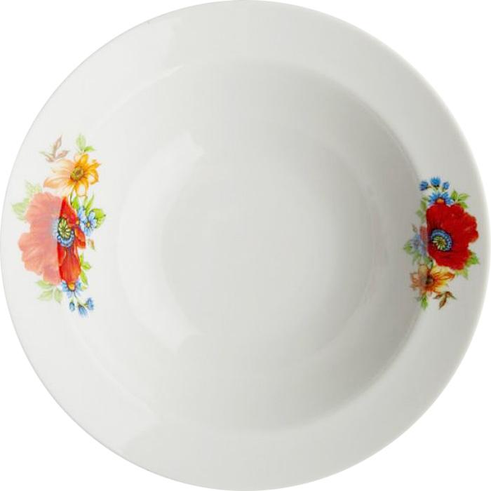 Миска Дулевский Фарфор Полевой мак , 500 мл063852Миска Дулевский Фарфор выполнена из высококачественного фарфора, покрытого глазурью.Изделие дополнено красочным рисунком. Такая миска пригодится на любой кухне. В ней можносервировать различные блюда или использовать как суповую тарелку.