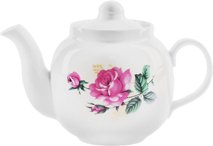 Чайник заварочный Дулевский Фарфор Рубин. Дикая роза, 700 мл049072Фарфоровая посуда считается классикой, ведь никакое время для нее не властно. Впервые появившись в Китае, фарфор присутствовал в домахбогатых людей и являлся драгоценным подарком для любого европейца. Фарфор ценили на вес золота, и это неудивительно, ведь его качество инеобыкновенные свойства славились на весь мир. Так, например, чайники из фарфора - это настоящая находка для ценителей чайной ароматной церемонии. Благодаря своим свойствам, фарфорспособен удерживать тепло напитка продолжительное время. Заварочный чайник Рубин. Дикая роза имеет довольно простой рисунок на белоснежном фарфоре, который несомненно, привлечет Вашевнимание. Фарфор производства Дулевский Фарфор имеет высокую термическую и механическую стойкость, благородный внешний вид. Чайник заварочный Дулевский Фарфор Рубин. Дикая роза станет прекрасным украшением сервировочного стола. Чай из такого изделия будетневероятно ароматным и вкусным.