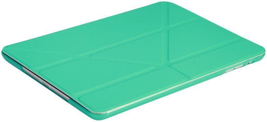 IT Baggage Hard Case чехол для Apple iPad 2017 9.7, TurquoiseITIPAD51-6Чехол для планшета It Baggage надежно защищает планшет от случайных ударов и царапин, а так же от внешних воздействий, грязи, пыли и брызг. Крышка используется как подставка по устройство. Чехол обеспечивает свободный доступ ко всем функциональным кнопкам.