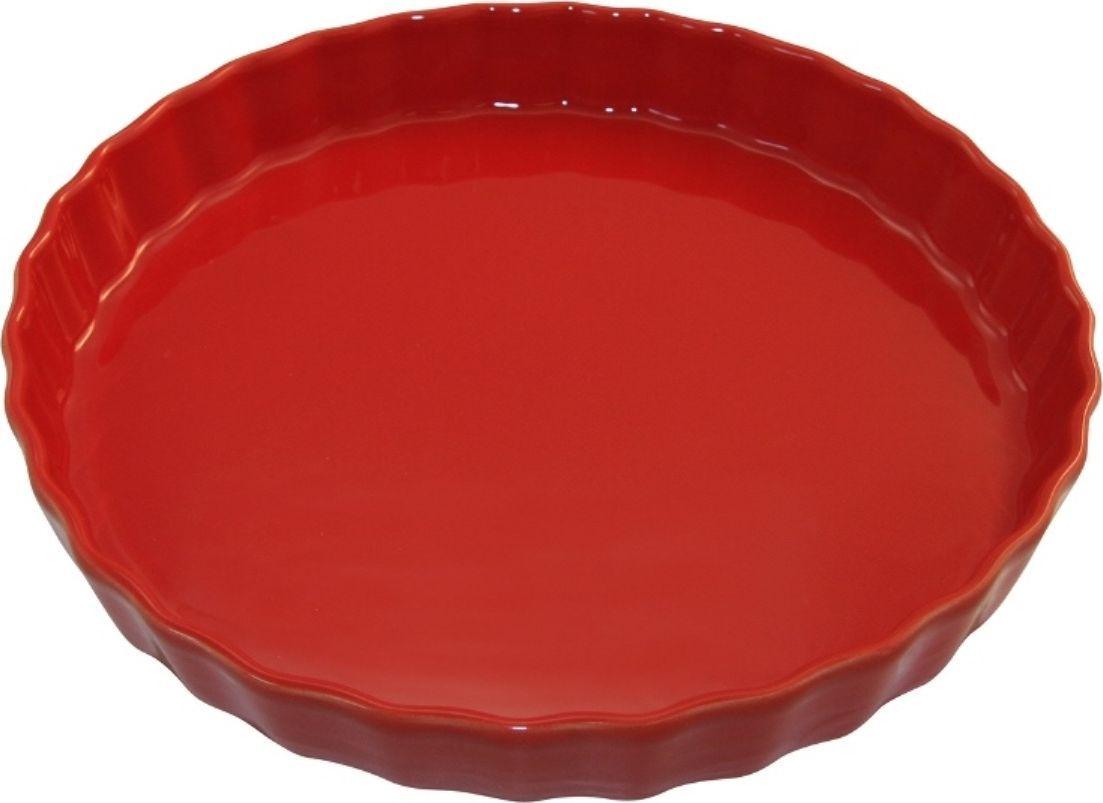 Форма для пирога Appolia Delices, цвет: красный, 2,1 л010530020Благодаря большому разнообразию изящных форм и широкой цветовой гамме, коллекция DELICES предлагает всевозможные варианты приготовления блюд для себя и гостей. Выбирайте цвета в соответствии с вашими желаниями и вашей кухне. Закругленные углы облегчают чистку. Легко использовать. Большие удобные ручки. Прочная жароустойчивая керамика экологична и изготавливается из высококачественной глины. Прочная глазурь устойчива к растрескиванию и сколам, не содержит свинца и кадмия. Глина обеспечивает медленный и равномерный нагрев, деликатное приготовление с сохранением всех питательных веществ и витаминов, а та же долго сохраняет тепло, что удобно при сервировке горячих блюд.