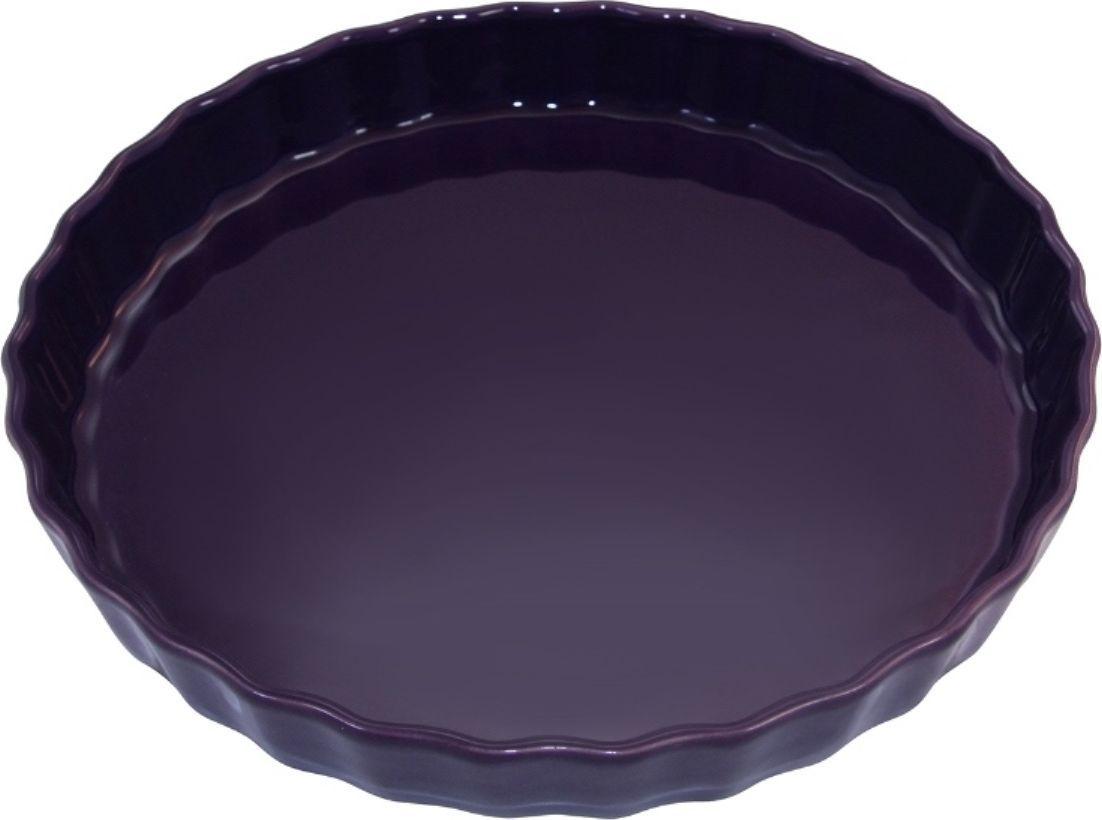 Форма для пирога Appolia Delices, цвет: баклажановый, 2,1 л010530026Благодаря большому разнообразию изящных форм и широкой цветовой гамме, коллекция DELICES предлагает всевозможные варианты приготовления блюд для себя и гостей. Выбирайте цвета в соответствии с вашими желаниями и вашей кухне. Закругленные углы облегчают чистку. Легко использовать. Большие удобные ручки. Прочная жароустойчивая керамика экологична и изготавливается из высококачественной глины. Прочная глазурь устойчива к растрескиванию и сколам, не содержит свинца и кадмия. Глина обеспечивает медленный и равномерный нагрев, деликатное приготовление с сохранением всех питательных веществ и витаминов, а та же долго сохраняет тепло, что удобно при сервировке горячих блюд.
