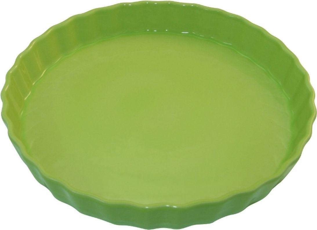 Форма для пирога Appolia Delices, цвет: лаймовый, 2,1 л010530027Благодаря большому разнообразию изящных форм и широкой цветовой гамме, коллекция DELICES предлагает всевозможные варианты приготовления блюд для себя и гостей. Выбирайте цвета в соответствии с вашими желаниями и вашей кухне. Закругленные углы облегчают чистку. Легко использовать. Большие удобные ручки. Прочная жароустойчивая керамика экологична и изготавливается из высококачественной глины. Прочная глазурь устойчива к растрескиванию и сколам, не содержит свинца и кадмия. Глина обеспечивает медленный и равномерный нагрев, деликатное приготовление с сохранением всех питательных веществ и витаминов, а та же долго сохраняет тепло, что удобно при сервировке горячих блюд.