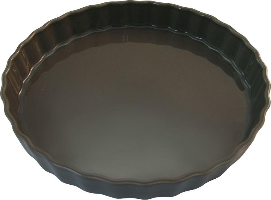 Форма для пирога Appolia Delices, цвет: темно-серый, 2,1 л010530044Благодаря большому разнообразию изящных форм и широкой цветовой гамме, коллекция DELICES предлагает всевозможные варианты приготовления блюд для себя и гостей. Выбирайте цвета в соответствии с вашими желаниями и вашей кухне. Закругленные углы облегчают чистку. Легко использовать. Большие удобные ручки. Прочная жароустойчивая керамика экологична и изготавливается из высококачественной глины. Прочная глазурь устойчива к растрескиванию и сколам, не содержит свинца и кадмия. Глина обеспечивает медленный и равномерный нагрев, деликатное приготовление с сохранением всех питательных веществ и витаминов, а та же долго сохраняет тепло, что удобно при сервировке горячих блюд.