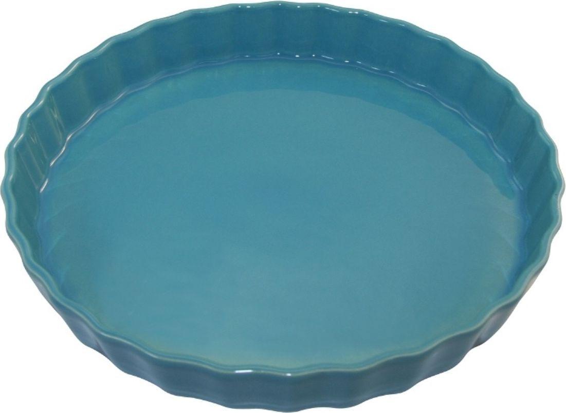 Форма для пирога Appolia Delices, цвет: голубой, 2,1 л010530071Благодаря большому разнообразию изящных форм и широкой цветовой гамме, коллекция DELICES предлагает всевозможные варианты приготовления блюд для себя и гостей. Выбирайте цвета в соответствии с вашими желаниями и вашей кухне. Закругленные углы облегчают чистку. Легко использовать. Большие удобные ручки. Прочная жароустойчивая керамика экологична и изготавливается из высококачественной глины. Прочная глазурь устойчива к растрескиванию и сколам, не содержит свинца и кадмия. Глина обеспечивает медленный и равномерный нагрев, деликатное приготовление с сохранением всех питательных веществ и витаминов, а та же долго сохраняет тепло, что удобно при сервировке горячих блюд.